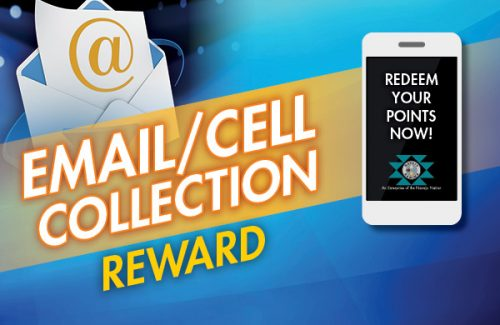 Email / Cell Collection Reward